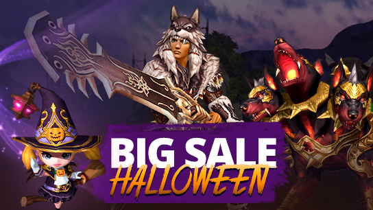 Big Sale - Halloween 2019